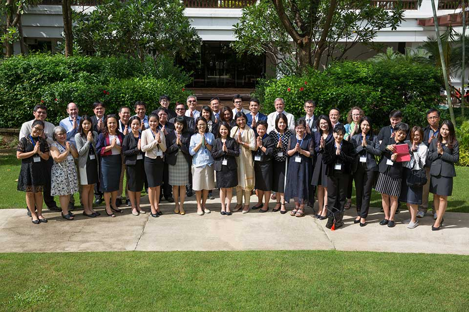 Group photo from the Thailand TTT Session held in Chiang Mai.