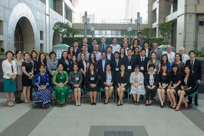 Group photo from the Second Regional Training Session held at ADB HQ in Manila, Philippines