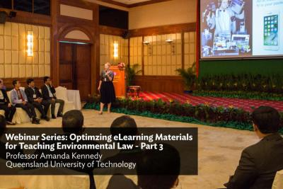 Webinar Series: Optimizing eLearning Materials for Teaching Environmental Law - Part 3