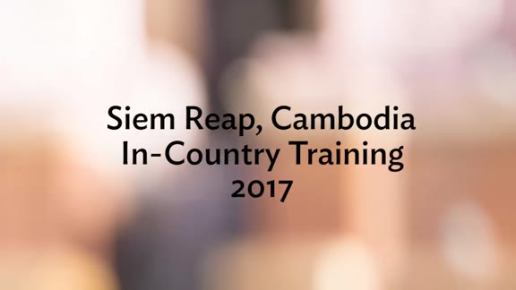 Siem Reap, Cambodia: Recap Video