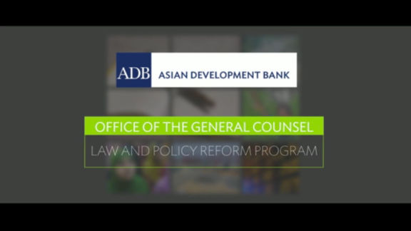 Overview of ADB's Law and Policy Reform Program